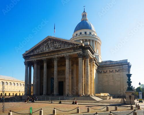 Photo Stands Paris Pantheon, Paris
