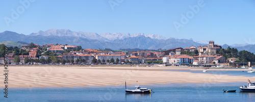 Fototapeta San Vicente de la Barquera Panoramica
