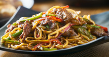 Asian Stir Fried Noodles With ...