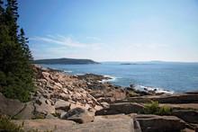 Ocean Path Cliff, Acadia Natio...