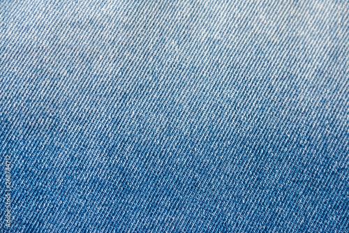 Blue denim texture background Canvas Print