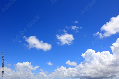 Stampa su Tela  沖縄上空のさわやかな空