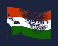 Hungary Flag Waved Design Conc...