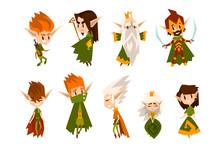 Forest Elves Set, Fairytale Ma...