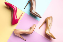 Different Stylish High Heeled ...