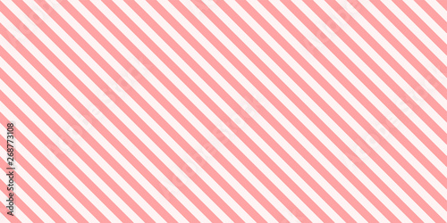 Obraz na plátně Background pattern diagonal stripe design pink colors seamless vector