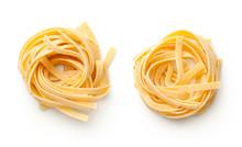 Raw Tagliatelle Pasta Nests Is...
