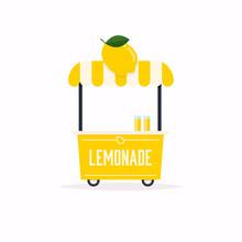 Lemonade Stand Cart. Street Fo...