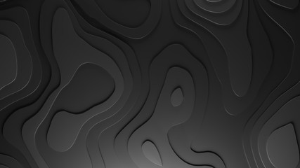 3D Topology Relief Background