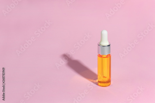 Photo  Dropper glass Bottle Mock-Up