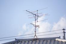 テレビアンテナ 屋上