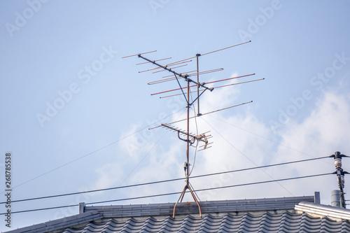 Foto テレビアンテナ 屋上