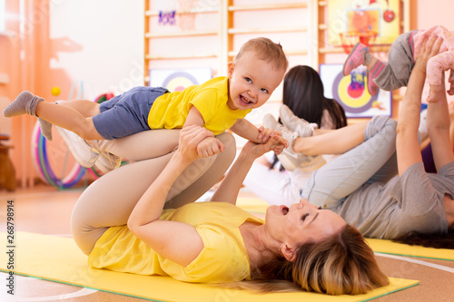 Fotografia, Obraz  Yoga for babies