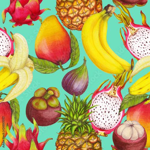 bezszwowy-tropikalny-wzor-reki-rysowac-swieze-soczyste-owoc