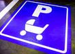 Leinwandbild Motiv stroller parking