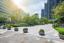Beautiful City Residential High-rise Residential Community Background Material