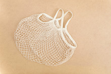 Eco Friendly Reusable Mesh String Knitted Shopping Bag With Fruits And Vegetables, Zero Waste