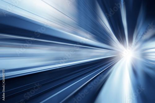 High speed business and technology concept, Acceleration super fast speedy motio Tapéta, Fotótapéta
