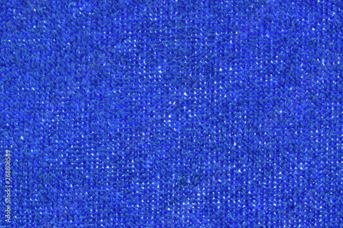 Valokuva  blue towel fabric texture and background