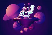 Universe Party. DJ Astronaut. ...