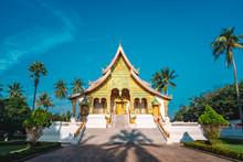 Luang Prabang National Museum And Haw Kham Temple In Laos Are The Main Attractions Of City