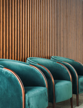 Row Of Comfortable Armchairs I...