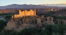 Casbah In Atlas Mountain . Morocco