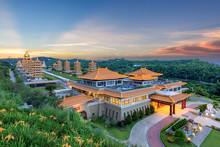Aerial View Of Fo Guang Shan B...