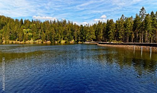 Obraz na płótnie Paysage lac