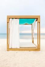 Luxury Cabana On A Beach In Thailand