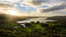 Lake Windermere From Loughrigg Fell, Lake District