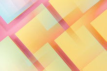 Colorful Geometric Shapes. Abstract Photo.