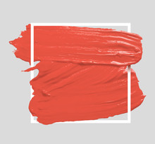 Brush Painted Watercolor Backg...
