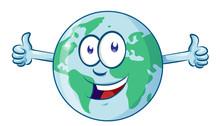 Earth Cartoon Character Earth ...
