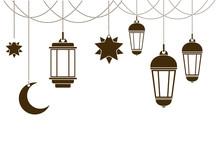 Ramadan Kareem Lantern Hanging Icon