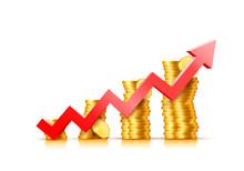 Finance Growth Chart Arrow Wit...
