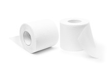 Two Rolls Of Toilet Paper To Support Hygiene