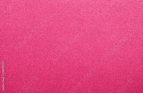 Fotografiet  Crimson fabric texture.Background of crimson fabric.