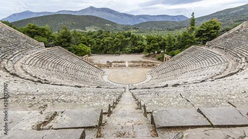 Fotografering Teatro di Epidauro