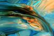 Leinwandbild Motiv Abstract paint background