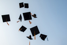 Throw A Black Hat Of Graduates In The Sky.
