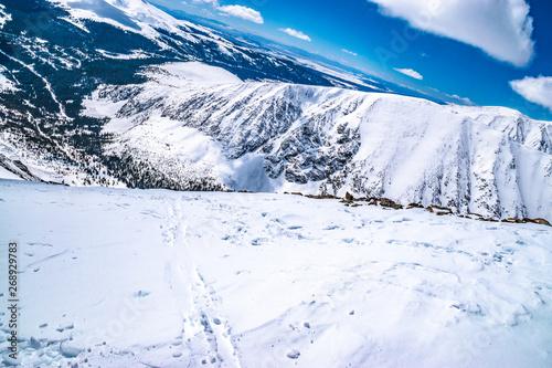 Beautiful Morning Hike Up Quandary Peak in Breckenridge, Colorado #268929783