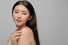 Beautiful Young Woman Asian Wi...
