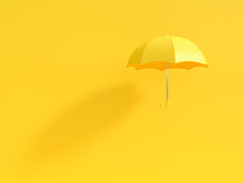 Minimal Idea Concept. Yellow U...