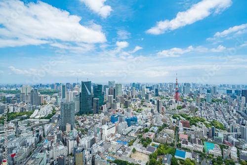 Foto auf AluDibond Tokio 東京風景