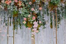Flower Background, Colorful Background, Fresh Rose, Backdrop Wedding, Bunch Of Flower