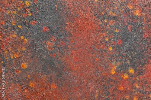 canvas print motiv - Pixel-Shot : Closeup view of color texture