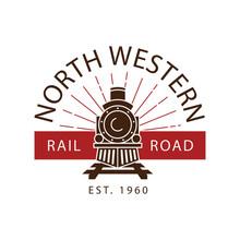 Vintage Railway Express Train ...