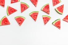 Fresh Watermelon Slices Pattern