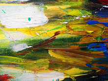Hand Drawn Oil Painting .Oil P...